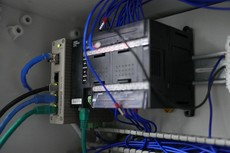 Island Systems Communication Rack